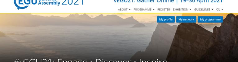 vEGU2021 conference publication