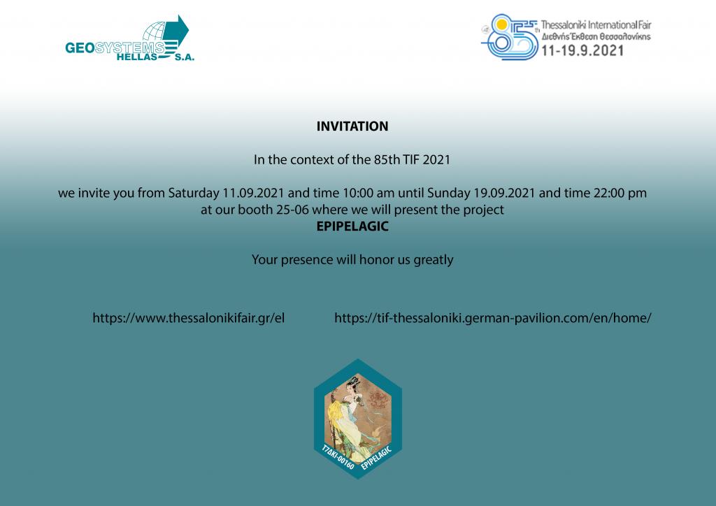 Invitation Epipelagic TIF 85